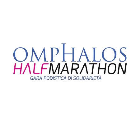 logo omphalos halfmarathon
