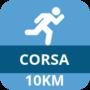icona corsa 10 km