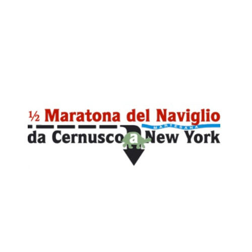 logo mezza maratona del naviglio