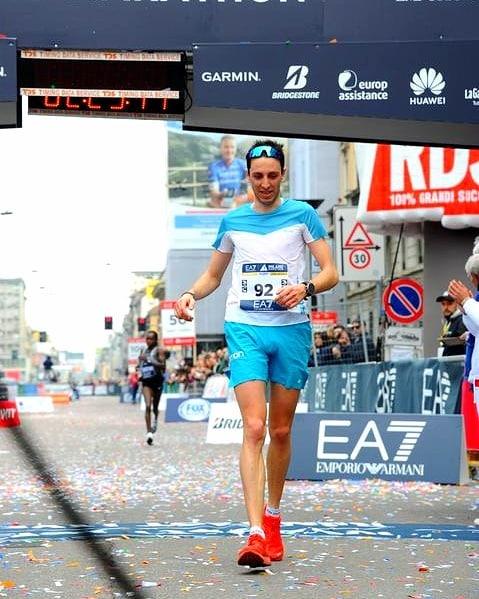 L'intervista a Davide Cheraz il maratoneta da record!