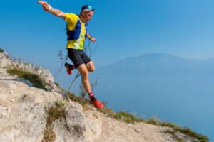 Skyrunning Atleta in allenamento