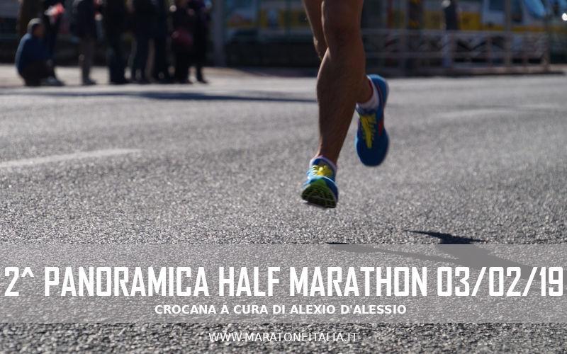 2^ Panoramica Half Marathon – Palombara S./Tivoli (RM) – 2019
