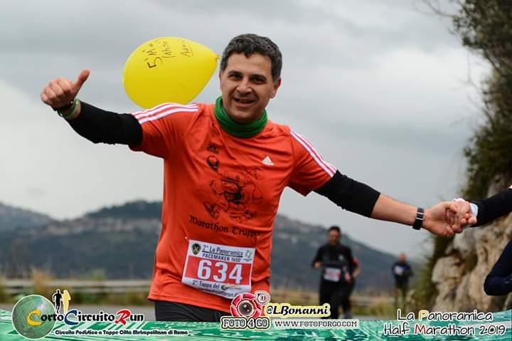 runner panoramica half marathon 2019