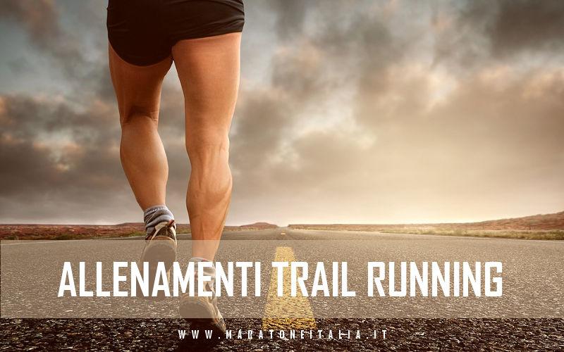 Allenamenti trail running
