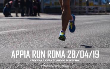 XXI Appia Run – Roma 28 Aprile 2019