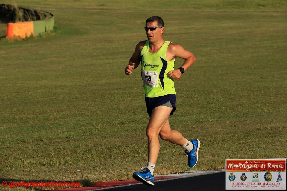 atleta XII Vallelunga Race Campagnano di Roma