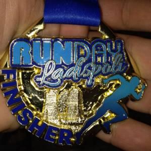 medaglia 1 runday ladispoli giugno 2019