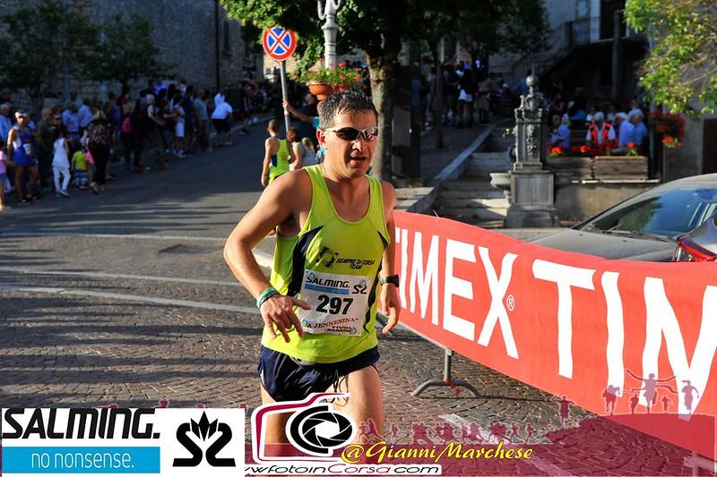 Alexio D'Alessio durante maratona la jennesina