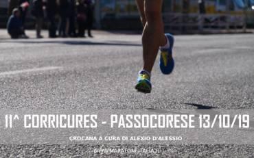 Cronaca della 11^ Corricures – Passocorese (RI) – 13/10/19