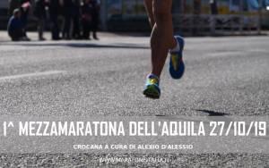 cronaca mezzamaratona dell'aquila ottobre 2019