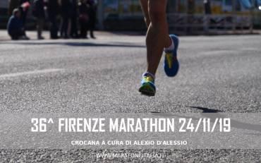 36^ Firenze Marathon – 24/11/2019