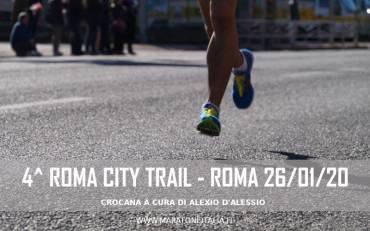 4° Roma City Trail – Roma 26/01/2020