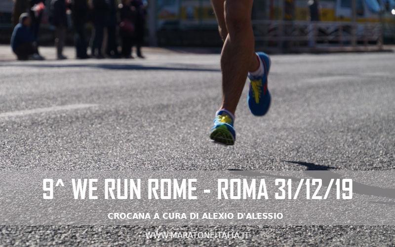 9^ We Run Rome – 31 Dicembre 2019